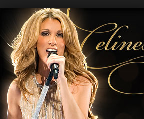 Celine Dion au Caesars palace las vegas