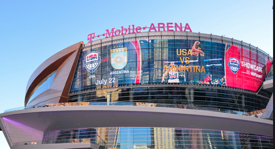 TMOBILE ARENA by Planetevegas