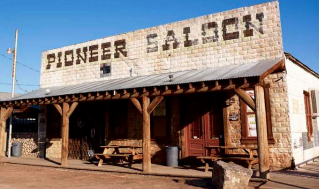 PIONEER SALOON FRONT BY PLANETEVEGAS