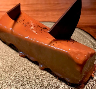 Gateau a chocolat Partage restaurant